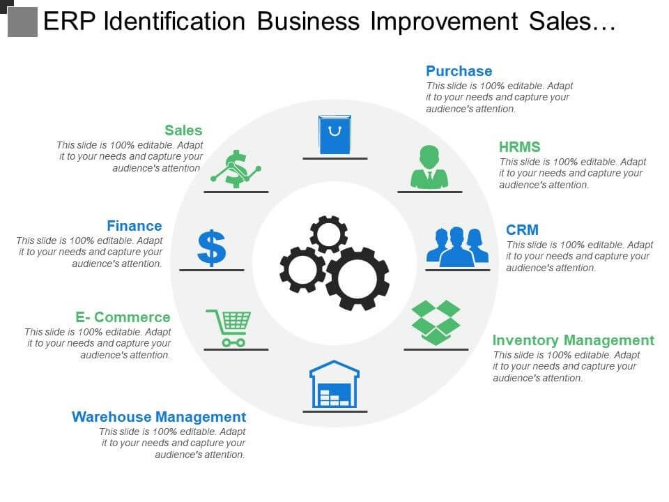 ERP Identification Business Improvement Sales